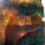 Couple, sculpture en onyx, réalisé par Xavier Loire sculpteur sur pierre